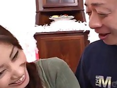 Big Cock Cumshot Hairy Japanese Kitty Mouthful