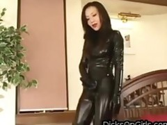 Fetish Japanese Latex Slave
