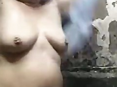 Amateur Big Tits BBW Fatty Filipina Kiss