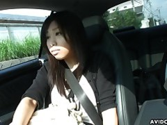 Ass Brunette Car Cute Fingering Hairy